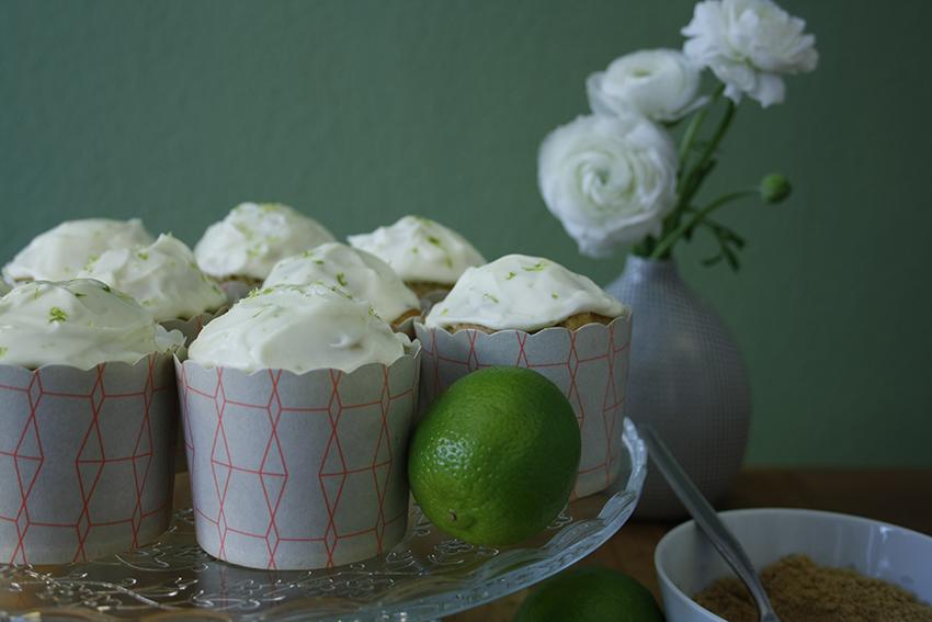 Limetten-Joghurt-Cupcakes1